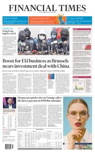 Financial Times Europe - December 29, 2020