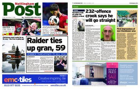 Nottingham Post – November 02, 2018
