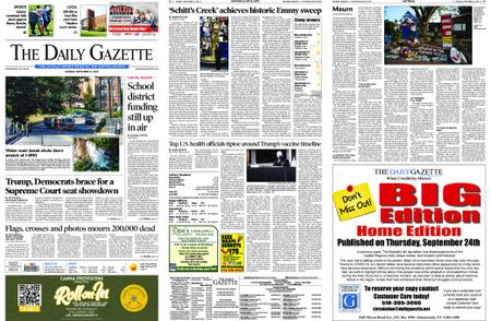 The Daily Gazette – September 21, 2020