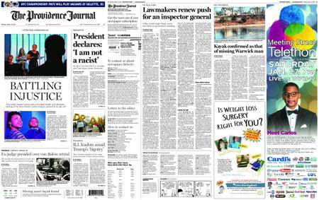 The Providence Journal – January 15, 2018