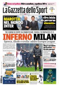 La Gazzetta dello Sport Roma – 14 dicembre 2018