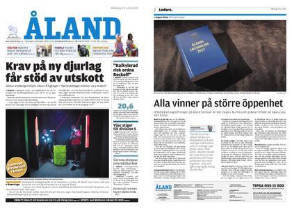 Ålandstidningen – 22 juni 2020