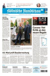 Kölnische Rundschau Köln-West – 27. November 2020