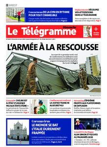 Le Télégramme Brest – 22 mars 2020