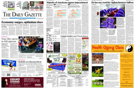 The Daily Gazette – April 27, 2019