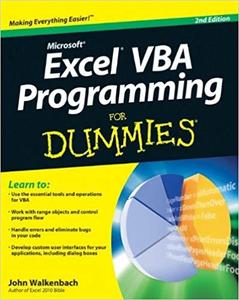 Excel VBA Programming For Dummies (2nd Edition)