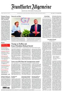 Frankfurter Allgemeine Zeitung F.A.Z. - 27. August 2019