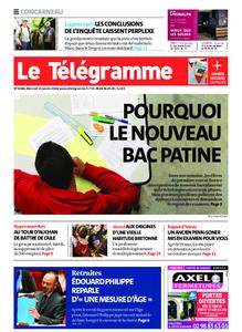 Le Télégramme Concarneau – 15 janvier 2020