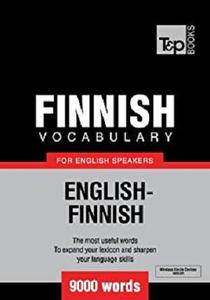 Finnish vocabulary for English speakers - English-Finnish - 9000 words