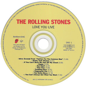 Rolling Stones - Love You Live (1977)