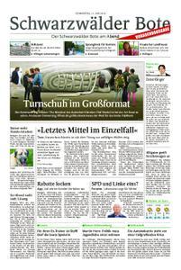 Schwarzwälder Bote St. Georgen, Triberg, Furtwangen - 13. Juni 2019