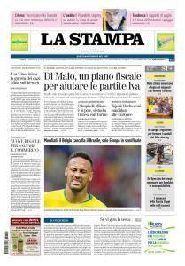 La Stampa Torino Provincia e Canavese - 7 Luglio 2018