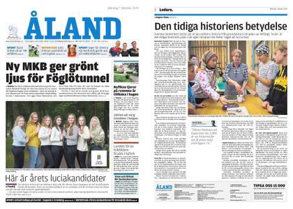 Ålandstidningen – 07 oktober 2019