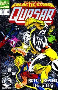 Captain America v1 399c Quasar 33