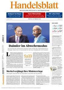 Handelsblatt - 26. Februar 2018
