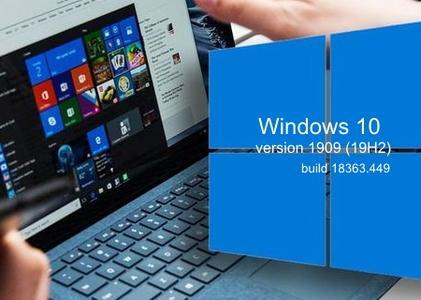 Windows 10 version 1909 Build 18363.449