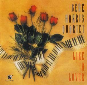 Gene Harris Quartet - Like A Lover (1992)