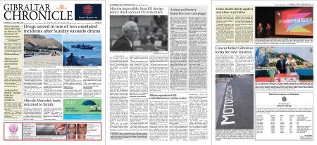 Gibraltar Chronicle – 08 October 2019