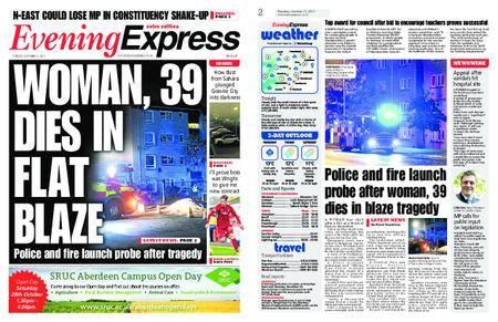 Evening Express – October 17, 2017