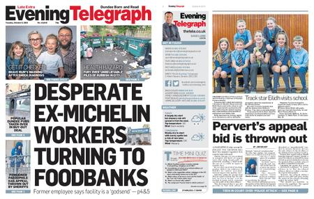 Evening Telegraph First Edition – October 08, 2019