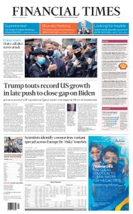 Financial Times Asia - October 30, 2020