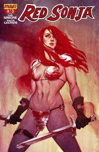 Red Sonja 0162015 2 covers Digital Exclusive Edition