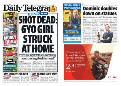 The Daily Telegraph (Sydney) – August 28, 2017