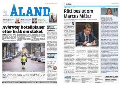 Ålandstidningen – 18 januari 2020