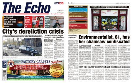 Evening Echo – October 31, 2020