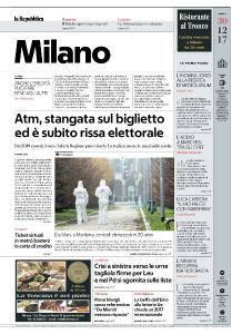 la Repubblica Milano - 30 Dicembre 2017
