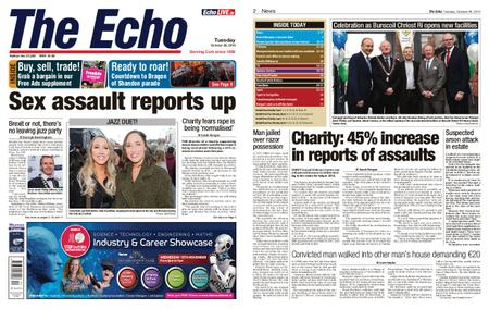 Evening Echo – October 29, 2019