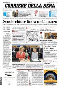 Corriere della Sera – 05 marzo 2020