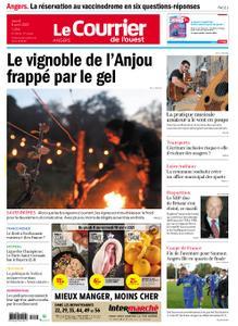Le Courrier de l'Ouest Angers – 08 avril 2021