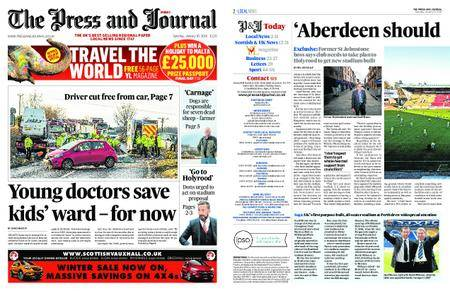 The Press and Journal Moray – January 20, 2018
