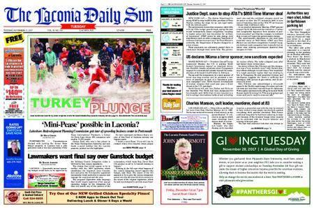 The Laconia Daily Sun – November 21, 2017