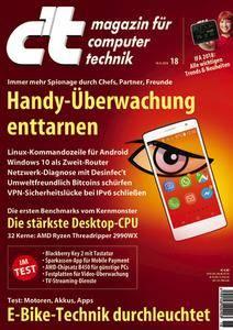 c't Magazin Nr.18 - 18 August 2018