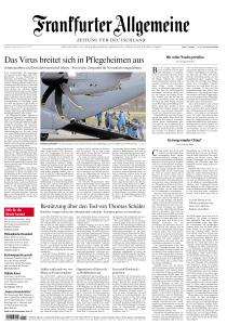 Frankfurter Allgemeine Zeitung - 30 März 2020