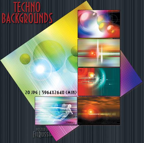 Techno Backgrounds