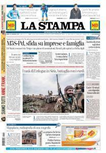 La Stampa Imperia e Sanremo - 22 Gennaio 2018