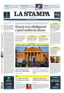 La Stampa Torino Provincia e Canavese - 30 Agosto 2020