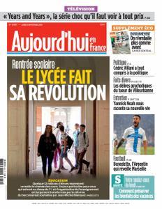 Aujourd'hui en France du Lundi 2 Septembre 2019