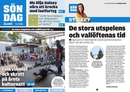 Ålandstidningen – 11 augusti 2019