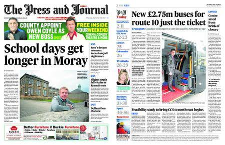 The Press and Journal Moray – September 28, 2017