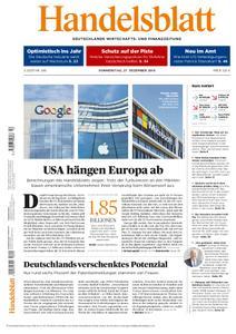 Handelsblatt - 27. Dezember 2018