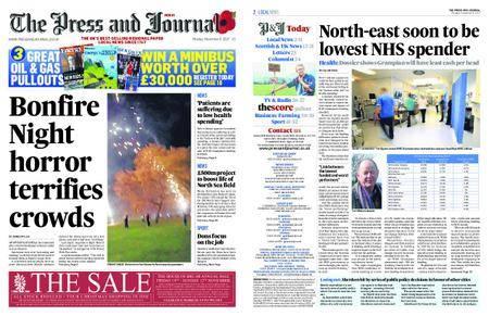 The Press and Journal Moray – November 06, 2017