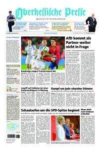 Oberhessische Presse Marburg/Ostkreis - 03. September 2019
