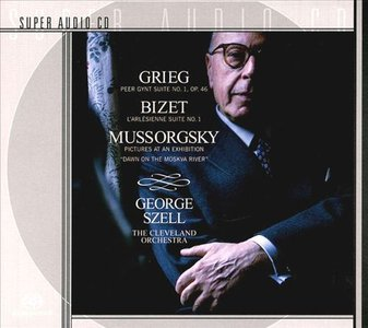 George Szell and Cleveland Orchestra - Grieg / Bizet / Mussorgsky (2001) PS3 ISO + Hi-RES FLAC {RE-UP}