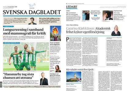 Svenska Dagbladet – 23 september 2019