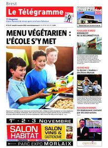 Le Télégramme Brest – 02 novembre 2019