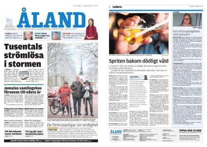 Ålandstidningen – 12 december 2019